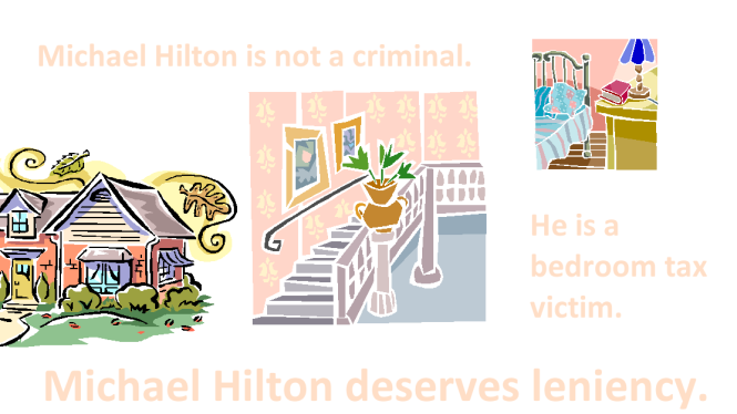 Michael Hilton deserves leniency